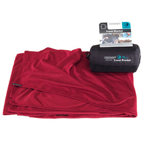 Cocoon Travel Blanket - CoolMax rojo